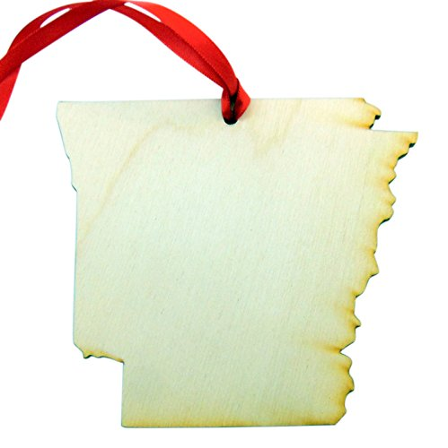 Westman Works Arkansas Wooden Christmas Ornament Boxed Gift Handmade in The U.S.A. ()