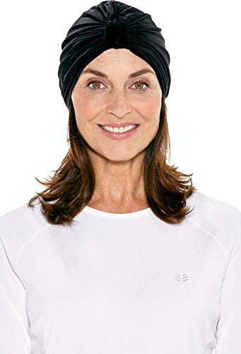 Coolibar UPF 50+ Women's Vias Swim Turban - Sun Protective (One Size- ()