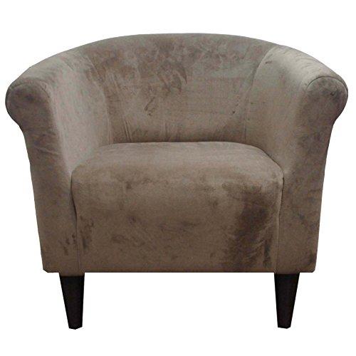 Parker Lane Savannah Club Chair, Coffee Microfiber ()