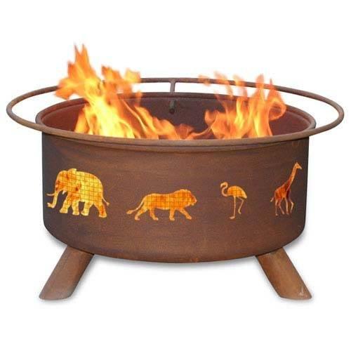 Safari Fire Pit -