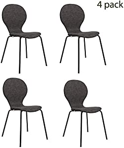 related image of FUNCASH Dining Chairs, Set of 4 Dining