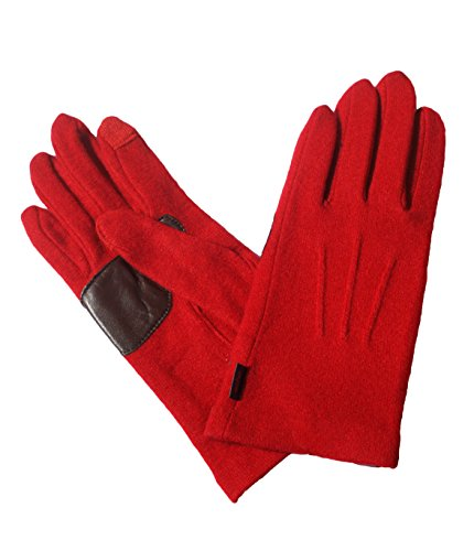 Echo Touch Women's Basic Glove, Medium, Red