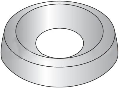 #12 Finishing Washer Stainless Steel (18-8) (Quantity: 100 pcs) - Inside Diameter: #12 inches