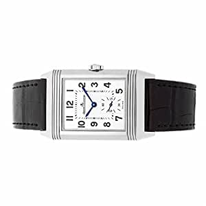 Jaeger LeCoultre Reverso mechanical-hand-wind mens Watch Q3858520 (Certified Pre-owned)