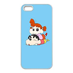 Crayon Shin chan iPhone 4 4s Cell Phone Case White g1870436