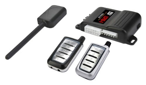 Remote Starter Kit w/ Keyless Entry for Jeep Liberty - True Plug & Play Installation