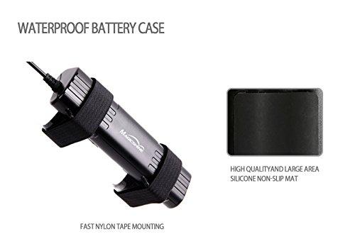 Magicshine Bike Light Battery, MJ-6102 high Capacity 6 Cell Li-ion Rechargeable Battery for Bike. 7800mah Waterproof Battery for Mountain Bike Lights | Round Plug by Magicshine (Image #4)