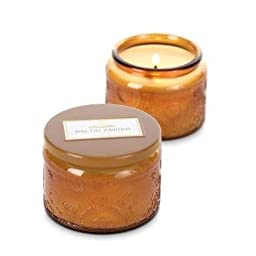 Voluspa Baltic Amber Petite Candle Glass Jar 3.2 oz