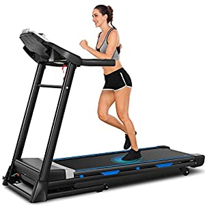 Well-Being-Matters 41eQyUbAmJL._SS300_ ANCHEER Treadmill, 3.25hp, App Control, Folding Treadmill Machine for Home with Automatic Incline, for Running, Walking…