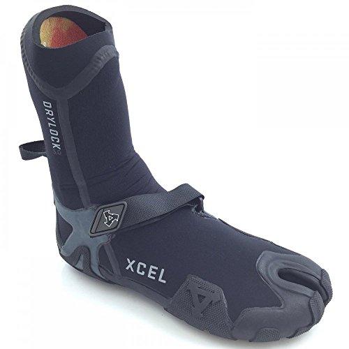 Xcel Drylock Split Toe 5Mm Black Wetsuit Boot   Surfing Accessories Uk 5