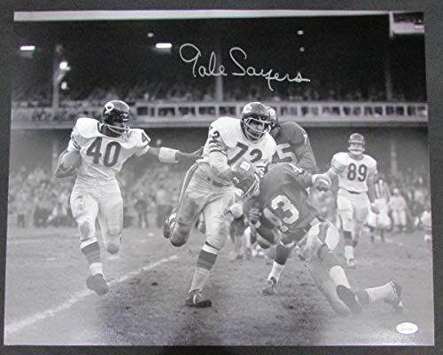 Gale Sayers Chicago Bears Autographed/Signed 16x20 Photo JSA 134670