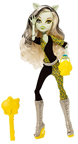 Monster High Freaky Fusion Frankie Stein Doll]()