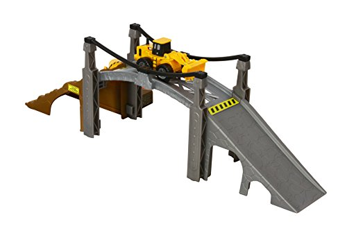 Toy State Caterpillar Construction Playset: Bridge - Cat Builder Playset Bridge