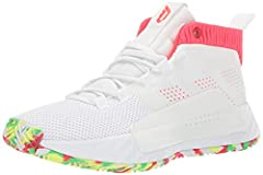 These juniors' basketball shoes are inspired by Dame's signature style. They feature Bounce cushioning and internal foam pods for enhanced comfort as you attack the lane. A soft suede upper offers durability, and a rubber outsole provides tra...
