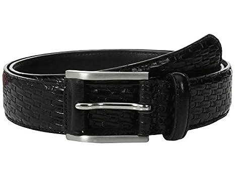 Stacy Adams Mens 32mm Full-Grain Top Leather Belt