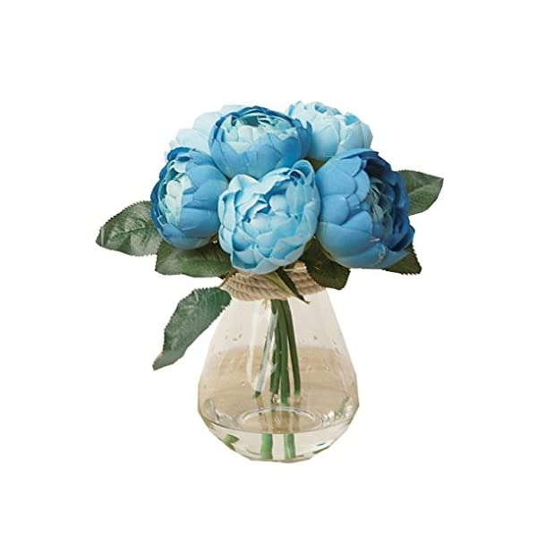 YJYDADA-1-Bouquet-6-Heads-Artificial-Peony-Silk-Flower-Leaf-Home-Wedding-Party-Decor