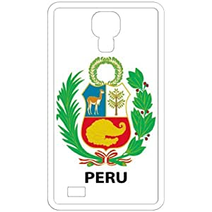 Lesser Peru - Country Coat Of Arms Flag Emblem White Samsung Galaxy S4 i9500 Cell Phone Case - Cover
