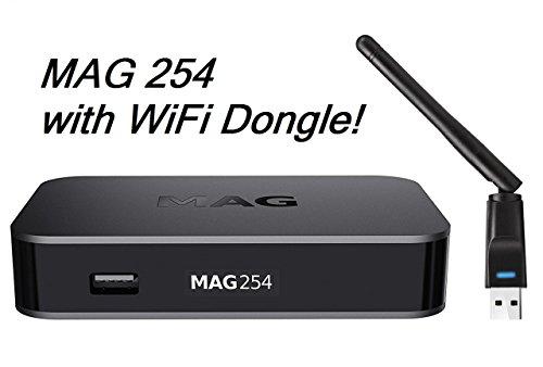 MAG 256w1 Latest Original Linux IPTV/OTT Box - Fast Processor, faster than...