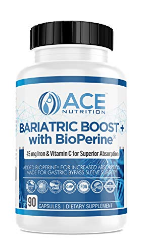 ric Boost Vitamins w/BioPerine (90 Capsules) Post Gastric Bypass Sleeve Surgery Multivitamin | Men, Women | Non-GMO, Gluten Free | Made in The USA ()