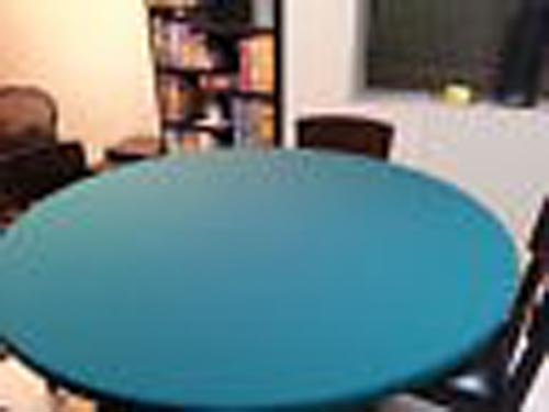 SaveMoney.es & Speed lite Poker Table Cover - Felt Style Tablecloth - Cover only - Ideal Upgrade Surface for Any Worn Felt Poker Game Table Cover (Green 60 inch ...