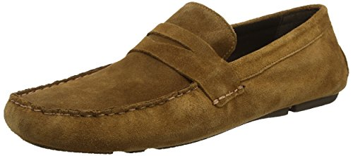 Red Tape Cranfield, Mocasines para Hombre Brown (Tan Suede)