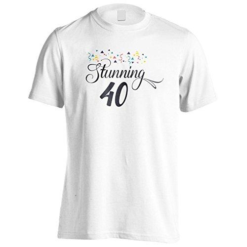 Atemberaubende 40 Jahre Alt Herren T-Shirt n985m