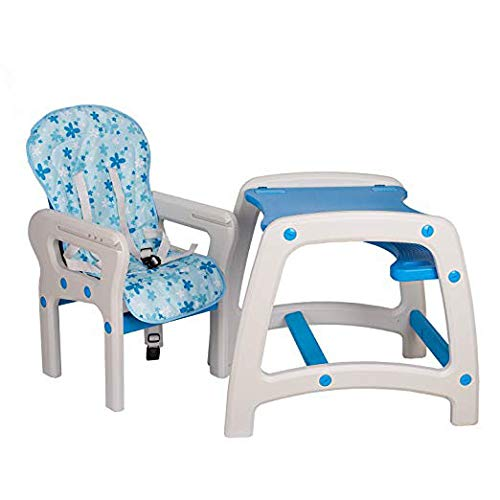 Dearbebe 3-in-1 Infant High Chair with Tray,Blue by Dearbebe (Image #5)