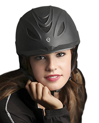 Size Chart Troxel Helmet (TROXEL INTREPID BLACK DURATEC HORSE RIDING HELMET ♦ LOW PROFILE ADJUSTABLE ♦ All Sizes (Medium))