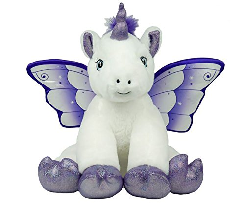 Cuddly Soft 16 inch Crystal The Unicorn...We Stuff 'em...You Love 'em! from Stuffems Toy Shop