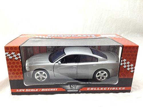 Motormax 73354 2011 Dodge Charger R/T Hemi Silver 1/24 Diecast Model Car ()