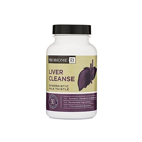 ProBiome Rx Liver Cleanse, 90 Count - Contains a Potent, High-Quality Blend of Live Probiotics and - Rx Quality
