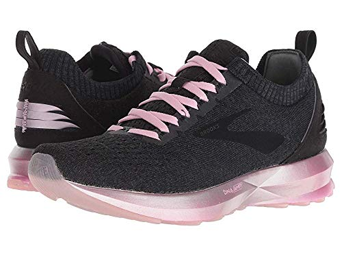 Brooks Women's Levitate 2 Black/Grey/Rose 7.5 B US