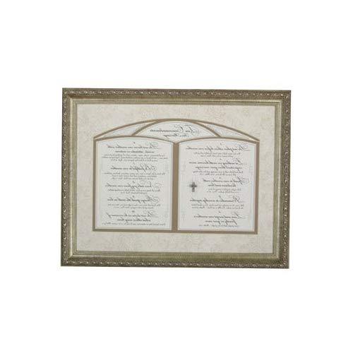Cаrpеntrее Home Decor 22440 Ten Commandments for Marriage Framed Art (Commandments Marriage Ten)