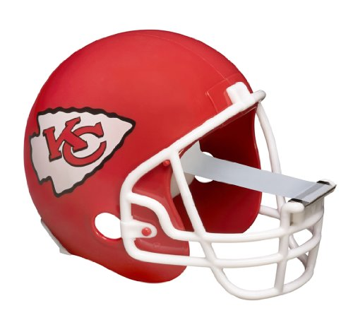 Scotch Magic Tape Dispenser, Kansas City Chiefs Football Helmet with 1 Roll of 3/4 x 350 Inches Tape