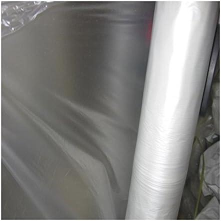 ELJQI - Plástico Invernadero 200M2 (50X4) 400Galgas - Transparente