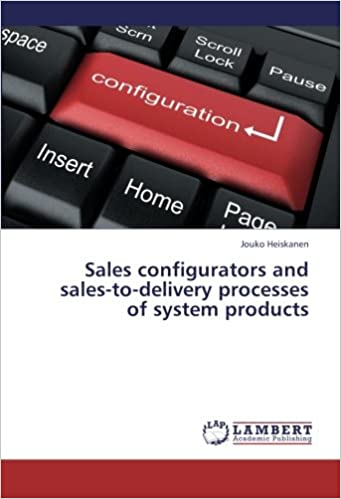 Book Sales configurators and sales-to-delivery processes of system products