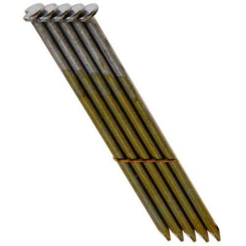 Grip Rite Prime Guard GRS12D 28-deg Bright Wire Clipped Head Nails,Smooth 3-1/4-inch by .120 (2,000 per Pack), Steel