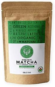 Soar Organics - Organic Japanese Matcha Green Tea Powder - Everyday Grade (Ceremonial & Second Harvest Ble