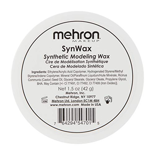 (Mehron Makeup SynWax Synthetic Modeling Wax (1.5)