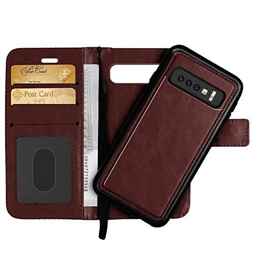 Detachable Wallet Case for Samsung Galaxy S10...