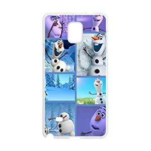Frozen lovely snow doll Cell Phone Case for Samsung Galaxy Note4