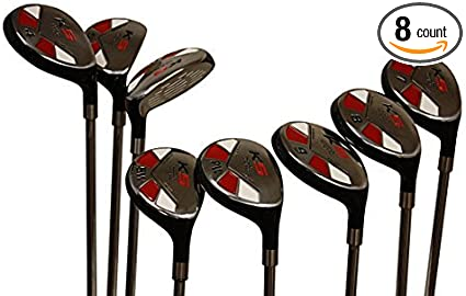 Amazon Com Senior Ladies Golf Clubs All Hybrid Set 55 Years Womens Right Hand Majek Lady Full True Hybrid Complete Set 3 4 5 6 7 8 9 Pw Lady Flex Right