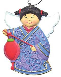 China: Angels Around the World Ornament (Children of the ()