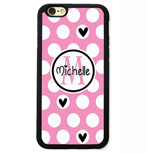 iPhone 7 Plus Case, ArtsyCase Pink White - Pink Polka Dots Heart Shopping Results