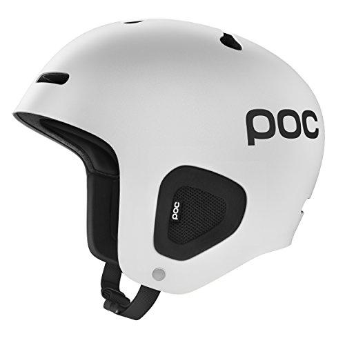 POC Auric Cut Helmet, Matt White, Medium/Large - Head Skis Freeride Skis
