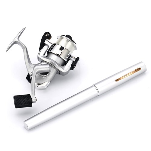 HDE-Pocket-Size-Pen-Shaped-Collapsible-Fishing-Rod-Pole-and-Spinning-Reel-Combo