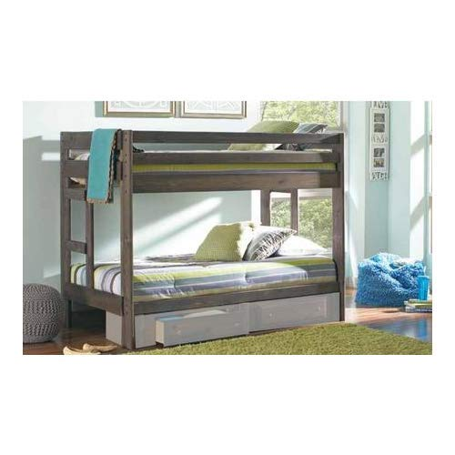 Coaster Twin/Twin Bunk Bed (Gun Smoke), 400831