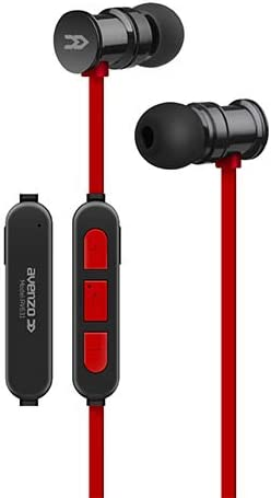Avenzo AV631NG - Auricular imantado, Color Negro