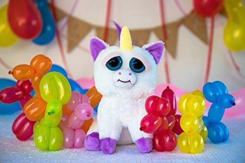 Feisty Glenda Glitterpoop Colorful Balloon Animals Edible Cake Topper Image ABPID27373 - 1/8 sheet -