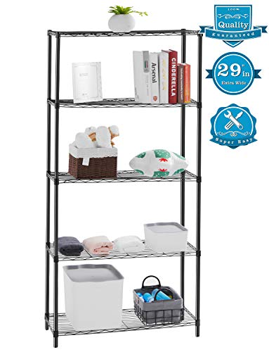 AOOU Shelf 5-Tier Shelving Unit, 29